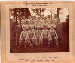 Olney RFC 1st XV team 1950-51