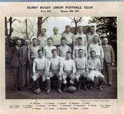 Olney RFC 1st XV team 1946-47