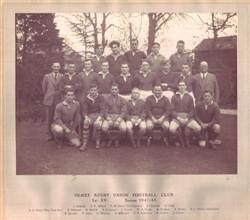 Olney RFC 1st XV team 1947-48