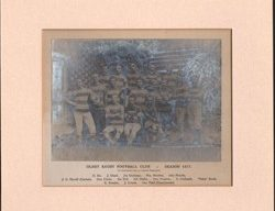 The first Olney RFC team in 1877