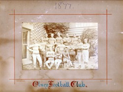 The 1877 Olney RFC team (2)