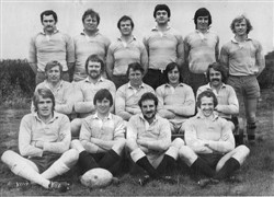 Olney RFC 1st XV team 1974-75