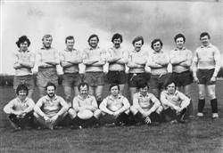 Olney RFC 1st XV team 1977-78