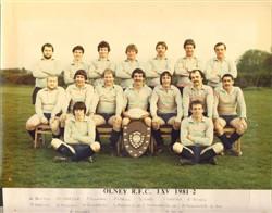 Olney RFC 1st XV 1981-82