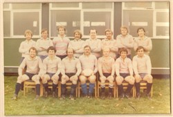 A XV team 1980-81