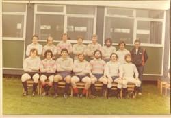 B XV team 1980-81