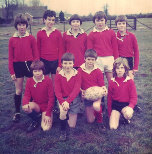 Olney RFC youth team, unknown date.