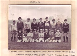 Olney RFC young players 1973-74