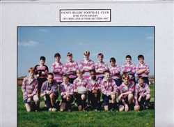 Olney RFC Under 13's team 1997