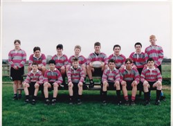 Olney RFC Under 14's team 1997