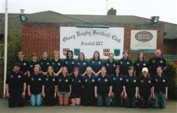 Olney Ladies XV 2003-04, East Midlands 3 League Champions.