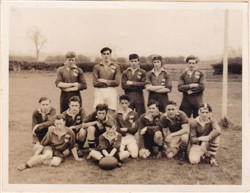 Olney RFC Juniors XV Season 1951-52