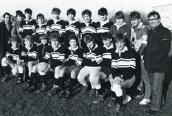 Milton Keynes Rugby Union Football Club Youth Team c.1980s