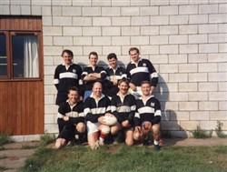 Milton Keynes Rugby Union Football Club 7's Team c.1995