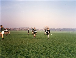 Milton Keynes Rugby Union Football Club match