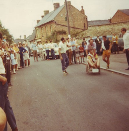 Potterspury Pram Race, High Street