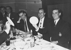 Wolverton Rugby Club dinner 1960s