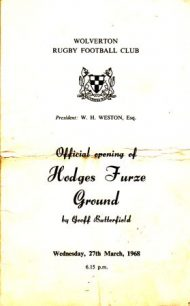 The Official Opening of Hodges Furze Ground