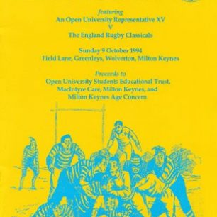 The Open University Rugby Festival Programme
