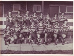 Bletchley RUFC Team Photograph 1972-73