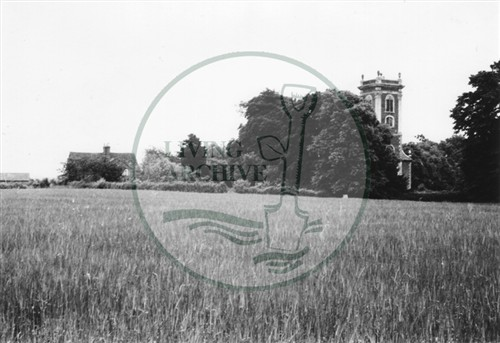 Photograph of St Mary Magdalen Church Willen (1971).
