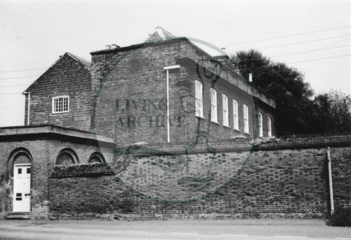 Photograph of  18th century house in Old Bradwell (1971)