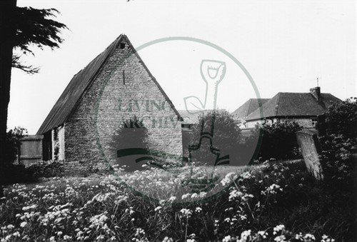 Photograph of Manor Farm Old Bradwell (1971).