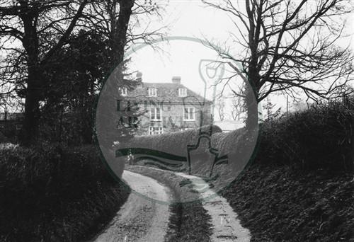 Photograph of Loughton village(1971).