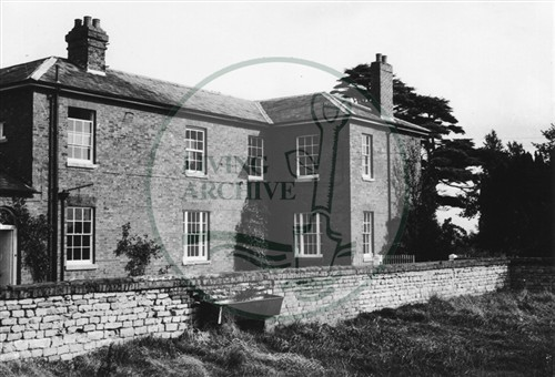 Photograph of Stacey Hill Farmhouse (1971).