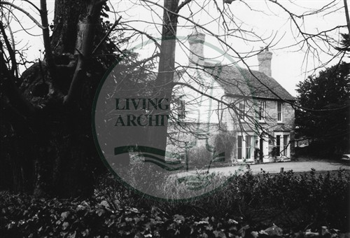 Photograph of Great Linford Vicarage (1971).