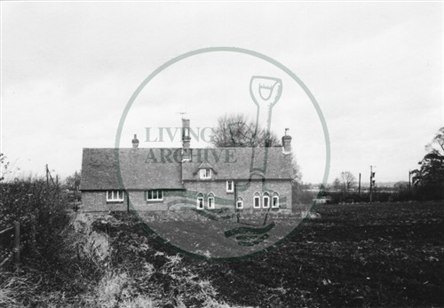 Photograph of Woolstone School (1971).