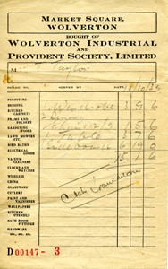 receipt for furniture living archive
