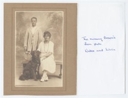 Walter and Lillian Brown.