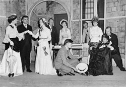 St. George's Players in 'Charlie's Aunt'.