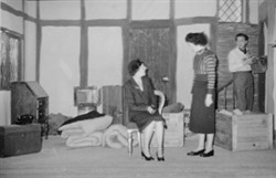 St. George's Players in 'Queen Elizabeth slept here'.