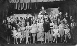 St  George's Players in a Pantomime.