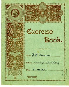 Exercise book for carriage building.