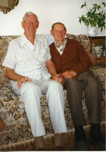 Frank and Walter Brown.