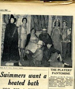 The Players Pantomime.