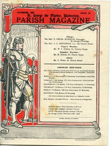 St George the Martyr Wolverton Parish Magazine, December 1939.