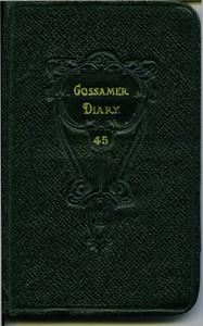 Pocket Diary 1927.