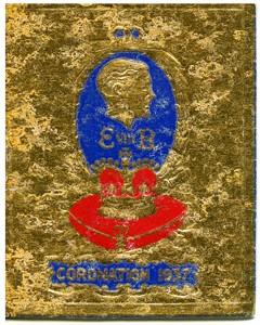 Coronation diary, 1937.