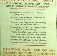 Slide of a recruitment poster 'Cold-Blooded Murder'