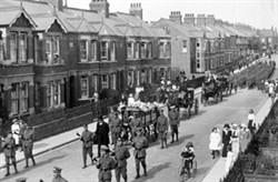 Wolverton Military Funeral Parade