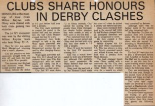 'Clubs Share Honours in Derby Clashes'