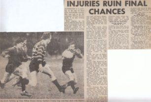 'Injuries Ruin Final Chances'