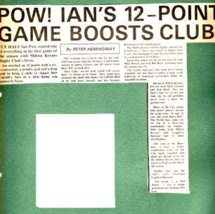 'Pow! Ian's 12-point game boosts club'