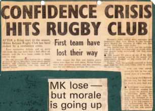 'Confidence Crisis Hits Rugby Club'
