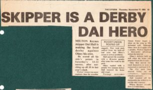 'Skipper is a Derby Dai Hero;