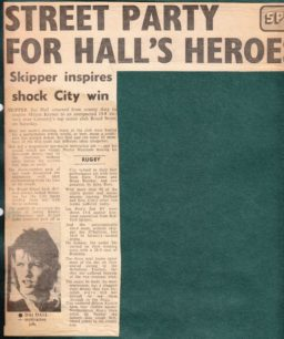 'Street Party For Hall's Heroes'